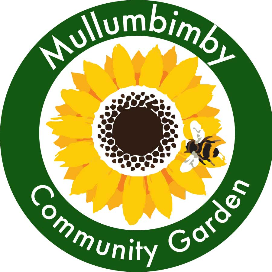 Wordpressit Mullumbimby Community Garden Logo Concept
