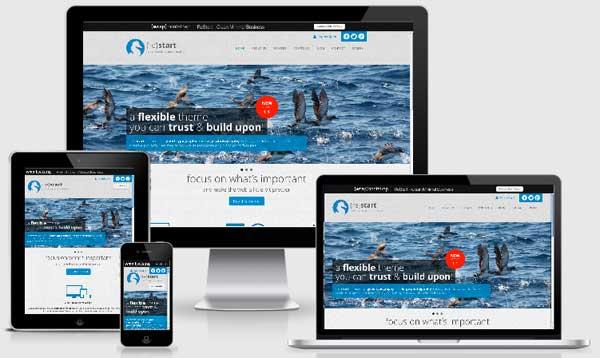 Restart Premium theme for Wordpress
