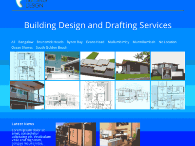 Wordpressit website portfolio Barefoot building Design