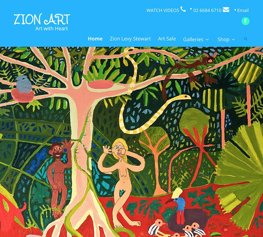Zion Levy Stewart Wordpressit Wordpress Web Design and Development Graphic Design Ecommerce Woocommerce