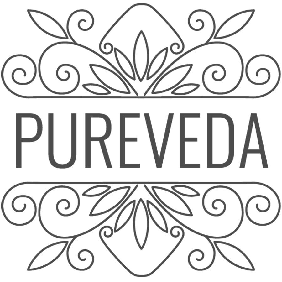 Pureveda Logo Concept wordpressit Loretta Faulkner Web Design and Development