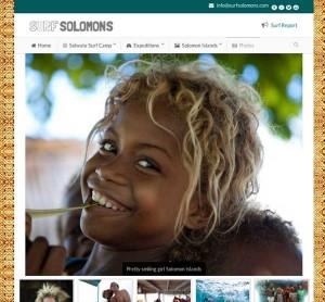 Surf Solomons Surf Break Gallery Design and Development Wordpressit