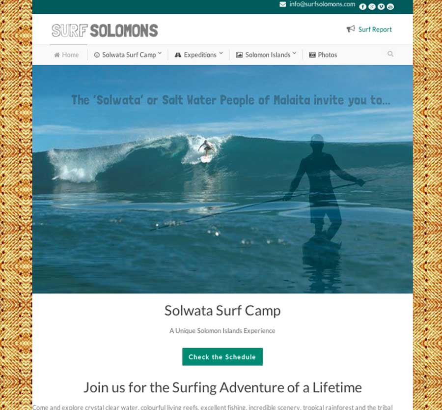 Surf Solomons Wordpressit Website Development