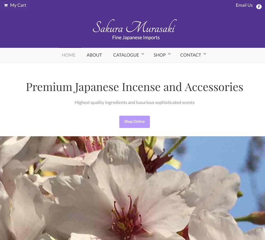 Fine Japanese Imports Sakura Murasaki Wordpressit Web Design and Development Ecommerce woocommerce