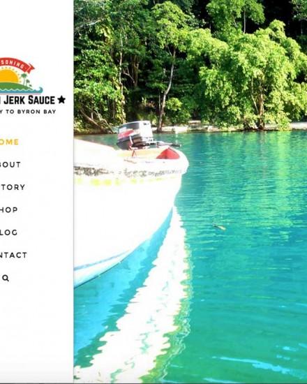 Jamaican Jerk Sauce Wordpressit Web Development Loretta Faulkner Mullumbimby Australia