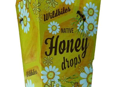 honey drops candy packaging loretta faulkner graphic design wordpressit mullumbimby byron bay