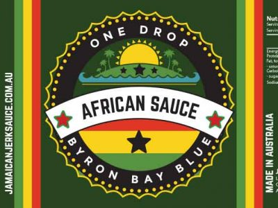 One Drop African chilli Sauce Byron Bay