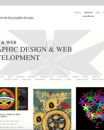 byron bay graphic designs Loretta Faulkner Wordpressit