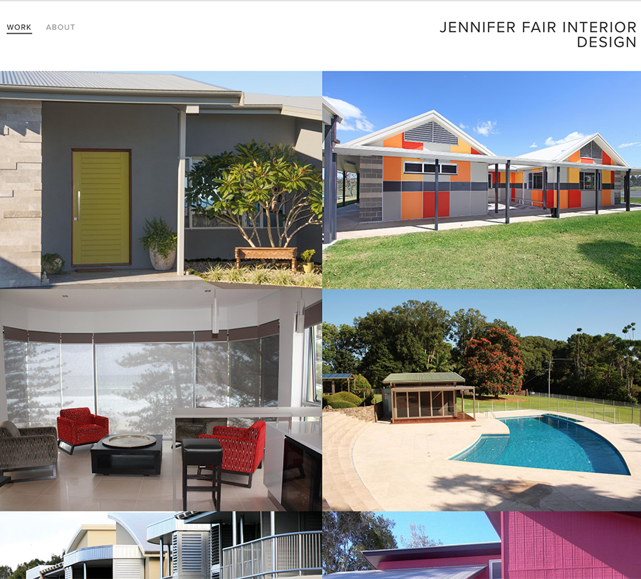Jennifer Fair Interior Design Wordpressit Web Design and Development