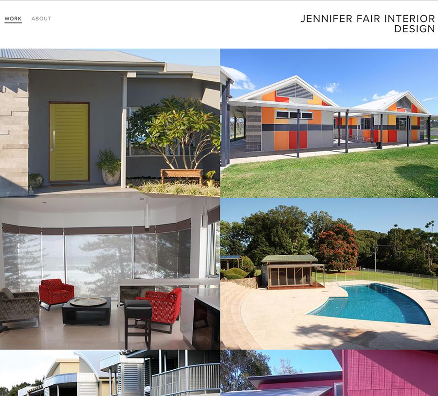 Jennifer Fair Interior Design Wordpressit Web Design and Development