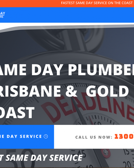 Same Day Plumbing Gold Coast Wordpressit Wordpress Web Design and Development Mullumbimby