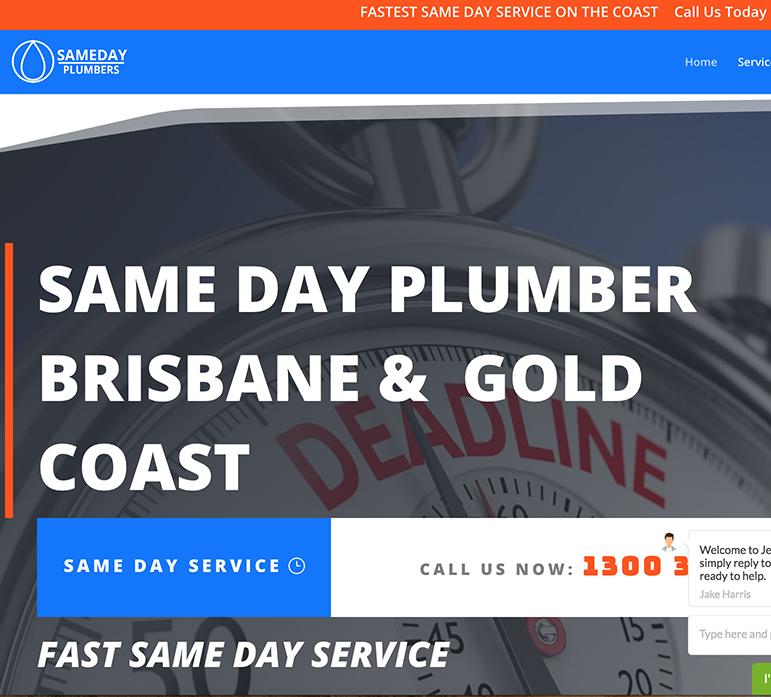 Same Day Plumbing Gold Coast Wordpressit Wordpress Web Design and Development Mullumbimby