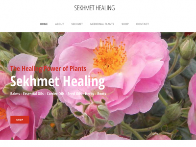 Sekhmet Healing Wordpressit Wordpress Design and Development
