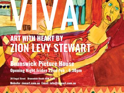 Wordpressit Instagram assets for Zion Levy Stewart Viva Art Exhibition