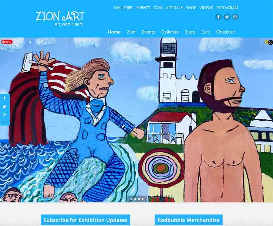 Chris Hemsworth and Thor at Wategos Zionart Zion Levy Stewart